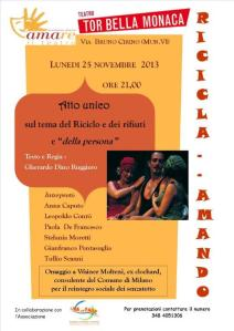 RICICLA AMANDO_locandina 25 nov 2013