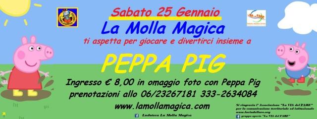 Peppa Pig volantino con Via del Fare (25 gen 2013)