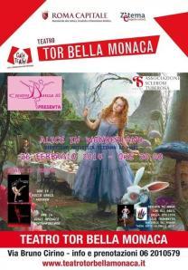 AST_Teatro TBM Alice Meravglie (26 feb 2014) locandina