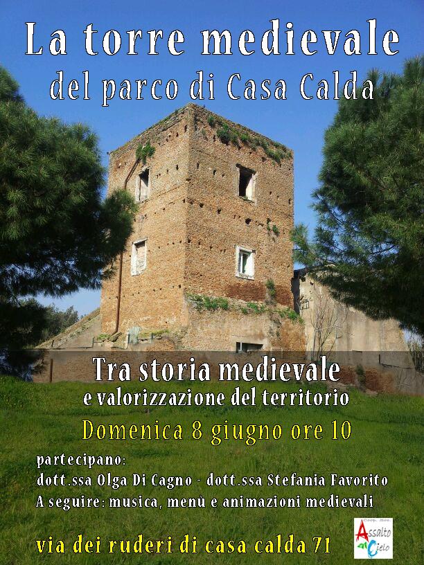 La torre medievale del parco di casa calda laviadelfare for Piani di casa torre allerta