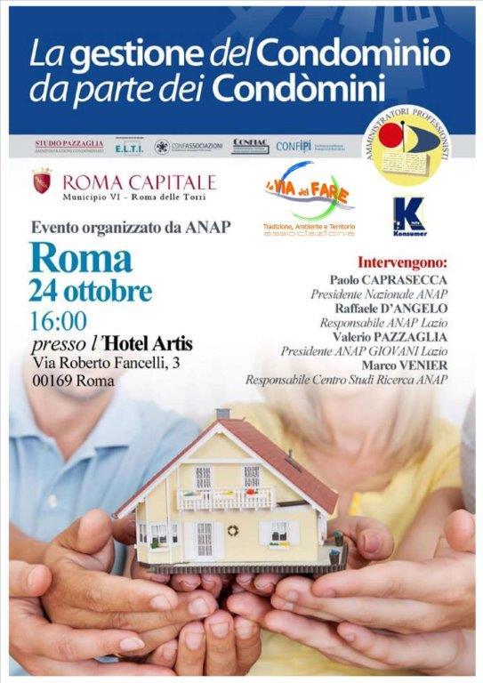 Convegno Gestione Condominio (24 ott 14)LOCANDINA e Logo