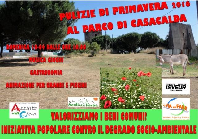 Pulizie Primavera 2016 Casa Calda (10 apr 16)